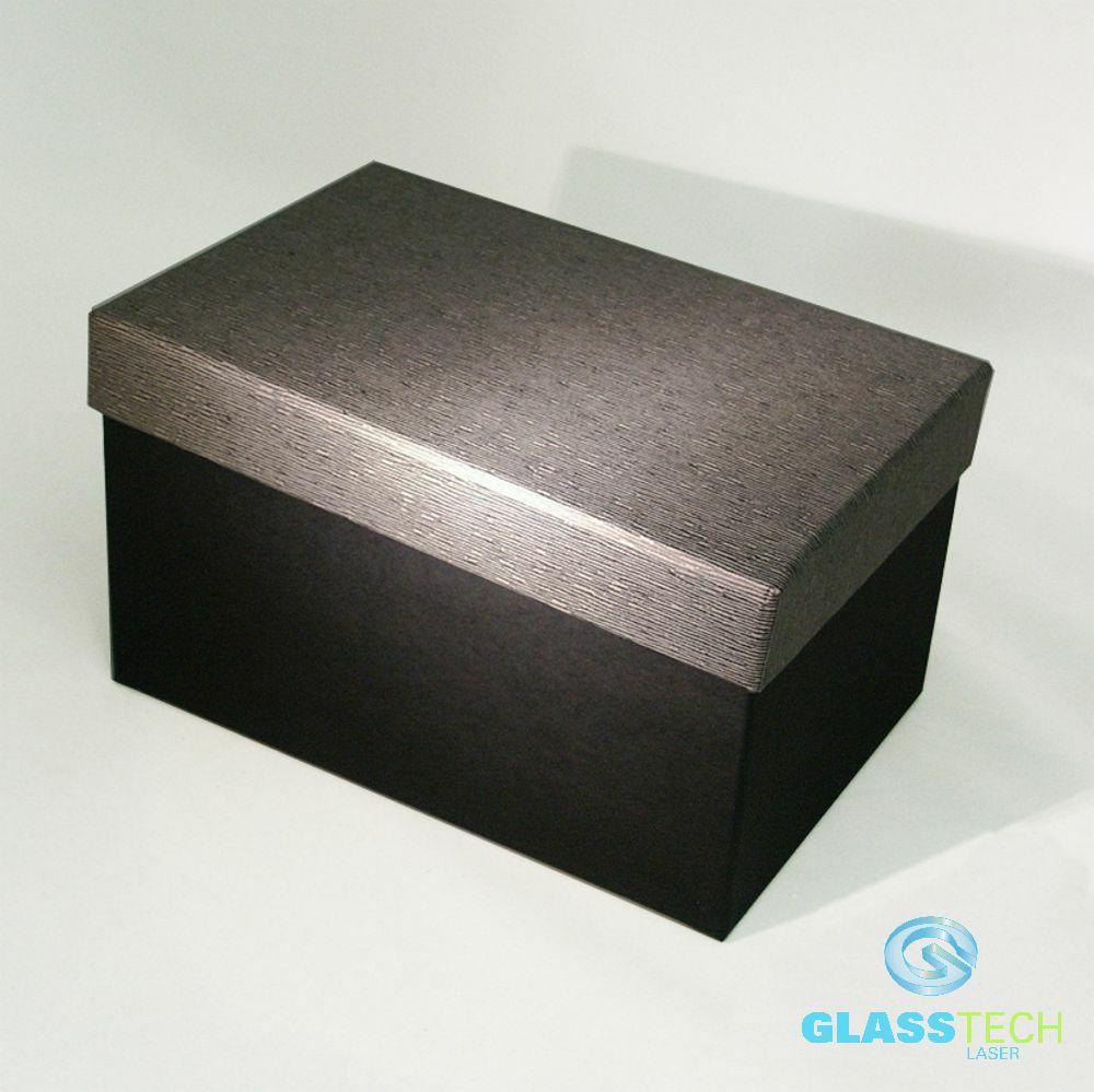 01a62c28b Krabice černá se šedým víkem - velikost L